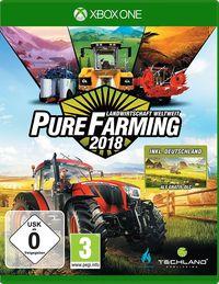 Hier klicken, um das Cover von Pure Farming 2018 - Landwirtschaft weltweit - D1 Edition (Xbox One) zu vergrößern