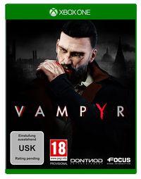 Hier klicken, um das Cover von Vampyr (Xbox One) zu vergrößern