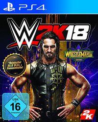Hier klicken, um das Cover von WWE 2K18 - WrestleMania Edition (PS4) zu vergrößern