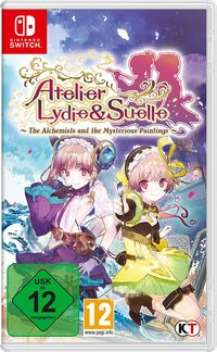 Hier klicken, um das Cover von Atelier Lydie & Suelle: The Alchemists and the Mysterious Paintings (Switch) zu vergrößern