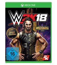 Hier klicken, um das Cover von WWE 2K18 - WrestleMania Edition (Xbox One) zu vergrößern