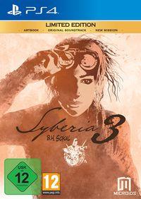 Hier klicken, um das Cover von Syberia 3 Limited Edition (PS4) zu vergrößern