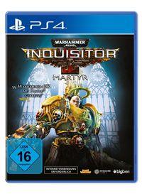 Hier klicken, um das Cover von Warhammer 40.000 - Inquisitor Martyr (PS4) zu vergrößern