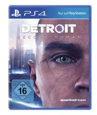 Hier klicken, um das Cover von Detroit Become Human (PS4) zu vergrößern