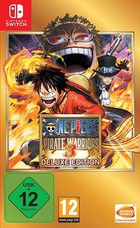 Hier klicken, um das Cover von One Piece Pirate Warriors 3 - Deluxe Edition (Switch) zu vergrößern