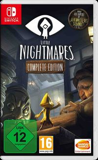 Hier klicken, um das Cover von Little Nightmares - Complete Edition (Switch) zu vergrößern
