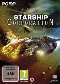 Hier klicken, um das Cover von Starship Corporation (PC) zu vergrößern