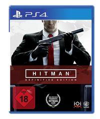Hier klicken, um das Cover von HITMAN: DEFINITIVE EDITION (PS4) zu vergrößern