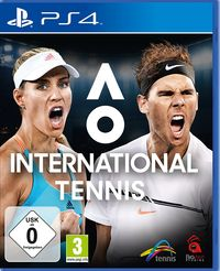 Hier klicken, um das Cover von AO International Tennis (PS4) zu vergrößern