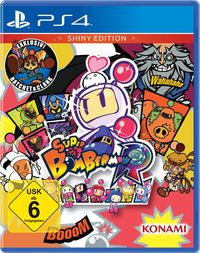 Hier klicken, um das Cover von Super Bomberman R - Shiny Edition (PS4) zu vergrößern