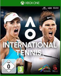 Hier klicken, um das Cover von AO International Tennis (Xbox One) zu vergrößern