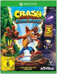 Hier klicken, um das Cover von Crash Bandicoot N.Sane Trilogy (Xbox One) zu vergrößern