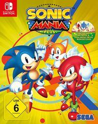 Hier klicken, um das Cover von Sonic Mania Plus (Switch) zu vergrößern