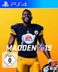 Hier klicken, um das Cover von Madden NFL 19 (PS4) zu vergrößern