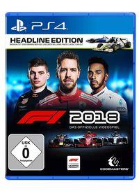 Hier klicken, um das Cover von F1 2018 Headline Edition (PS4) zu vergrößern