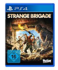 Hier klicken, um das Cover von Strange Brigade (PS4) zu vergrößern