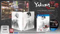 Hier klicken, um das Cover von Yakuza Kiwami 2 Steelbook Edition (PS4) zu vergrößern