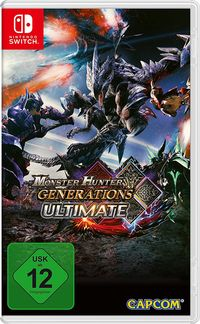 Hier klicken, um das Cover von Monster Hunter Generations Ultimate (Switch) zu vergrößern