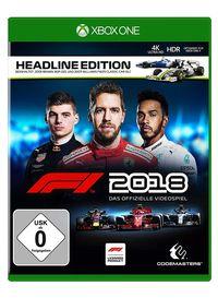 Hier klicken, um das Cover von F1 2018 Headline Edition (Xbox One) zu vergrößern