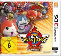 Hier klicken, um das Cover von YOKAI-WATCH BLASTERS Rote-Katzen-Kommando (3DS) zu vergrößern