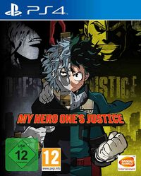 Hier klicken, um das Cover von My Hero One's Justice (PS4) zu vergrößern