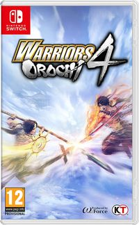 Hier klicken, um das Cover von Warriors Orochi 4 (Switch) zu vergrößern