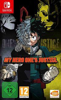 Hier klicken, um das Cover von My Hero One's Justice (Switch) zu vergrößern
