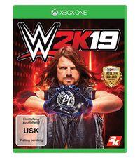 Hier klicken, um das Cover von WWE 2K19 (Xbox One) zu vergrößern