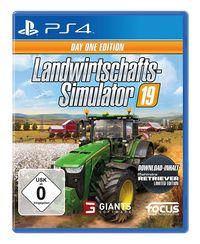 Hier klicken, um das Cover von Landwirtschafts-Simulator 19 (PS4) zu vergrößern