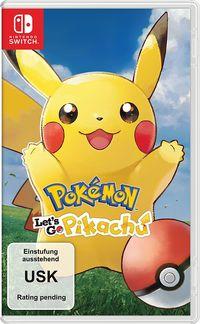 Hier klicken, um das Cover von Pokémon: Let´s Go, Pikachu! (Switch) zu vergrößern