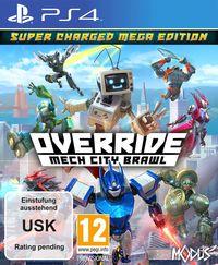 Hier klicken, um das Cover von Override: Mech City Brawl - Super Charged Mega Edition (PS4) zu vergrößern