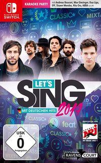 Hier klicken, um das Cover von Let's Sing 2019 mit deutschen Hits (Switch) zu vergrößern
