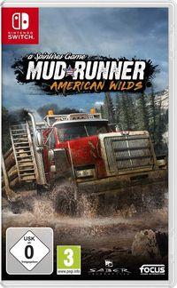 Hier klicken, um das Cover von Spintires: Mudrunner American Wilds Edition (Switch) zu vergrößern