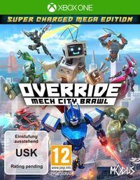 Hier klicken, um das Cover von Override: Mech City Brawl - Super Charged Mega Edition (Xbox One) zu vergrößern