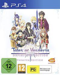 Hier klicken, um das Cover von Tales of Vesperia: Definitive Edition (PS4) zu vergrößern