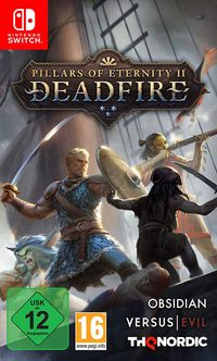 Hier klicken, um das Cover von Pillars of Eternity II: Deadfire (Switch) zu vergrößern