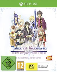 Hier klicken, um das Cover von Tales of Vesperia: Definitive Edition (Xbox One) zu vergrößern