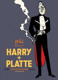 Hier klicken, um das Cover von Harry und Platte Gesamtausgabe  – 1955-1958  zu vergrößern