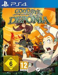 Hier klicken, um das Cover von Goodbye Deponia (PS4) zu vergrößern