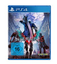 Hier klicken, um das Cover von Devil May Cry 5 (PS4) zu vergrößern