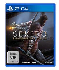 Hier klicken, um das Cover von SEKIRO - Shadows Die Twice (PS4) zu vergrößern