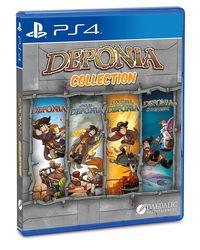 Hier klicken, um das Cover von Deponia Collection (PS4) zu vergrößern