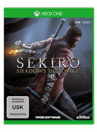 Hier klicken, um das Cover von SEKIRO - Shadows Die Twice (Xbox One) zu vergrößern