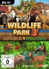 Hier klicken, um das Cover von Wildlife Park 3: Afrika & Amazonas (PC) zu vergrößern