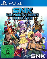 Hier klicken, um das Cover von SNK 40th ANNIVERSARY COLLECTION (PS4) zu vergrößern