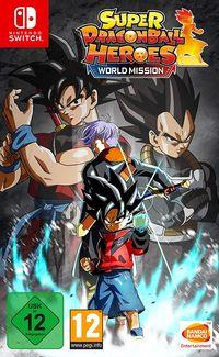Hier klicken, um das Cover von Super Dragon Ball Heroes World Mission (Day1 Edition) (Switch) zu vergrößern