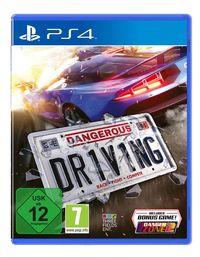 Hier klicken, um das Cover von Dangerous Driving (PS4) zu vergrößern