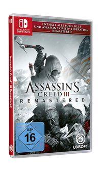 Hier klicken, um das Cover von Assassin's Creed 3 Remastered (Switch) zu vergrößern