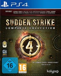 Hier klicken, um das Cover von Sudden Strike 4: Complete Collection (PS4) zu vergrößern