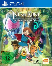Hier klicken, um das Cover von Ni no Kuni: Der Fluch der Weiss~en Koe~nigin Remastered (Ps4) zu vergrößern
